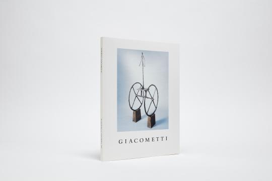 Giacometti Catalogue Cover
