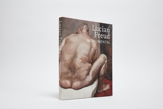 Lucian Freud: Monumental catalogue cover (Naked Man, Back View)