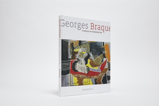 Georges Braque Pioneer of Modernism Catalogue Cover