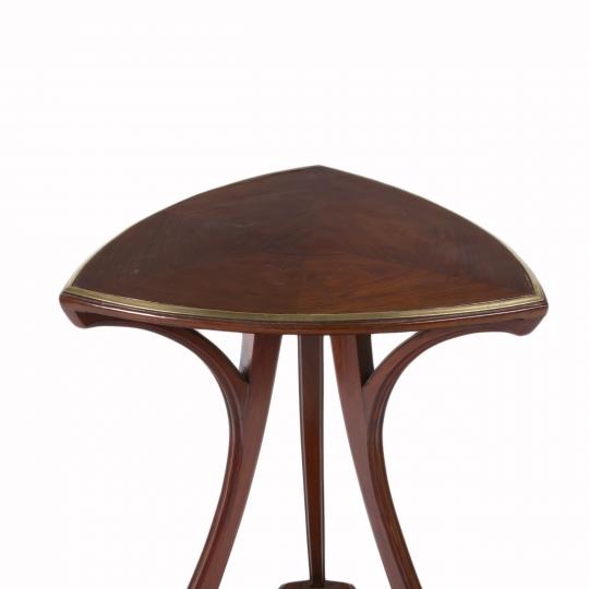 Art Nouveau Tri-Cornered Table