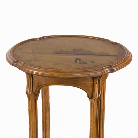"Art Nouveau ""Ombelle"" Side Table"