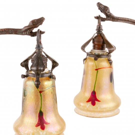Snake Table Lamps