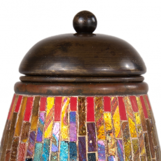 Mosaic Matchstick Holder