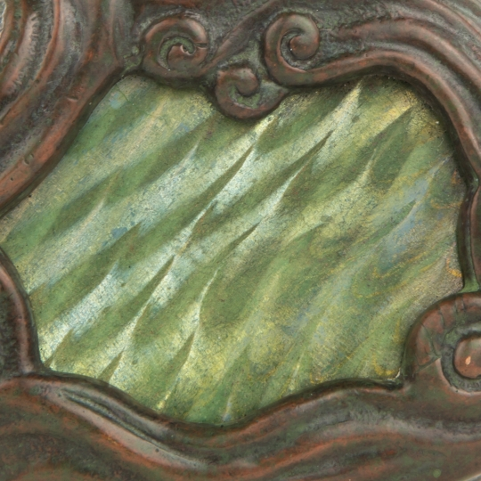 Mosaic Damascene Paperweight