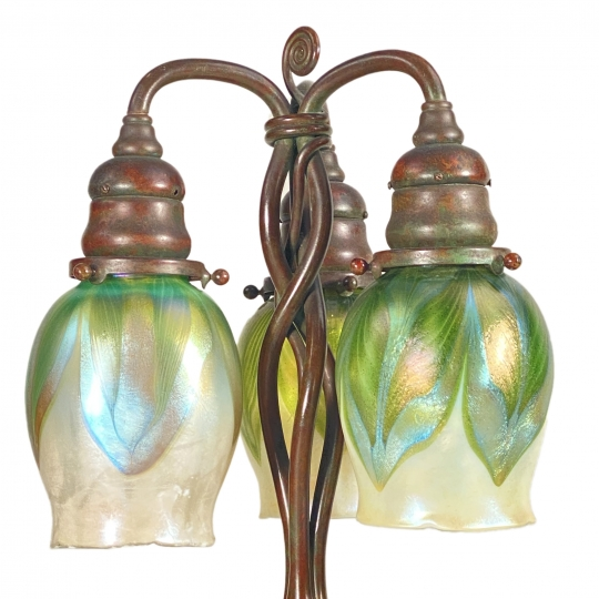 Newel Post Desk Lamp - 1