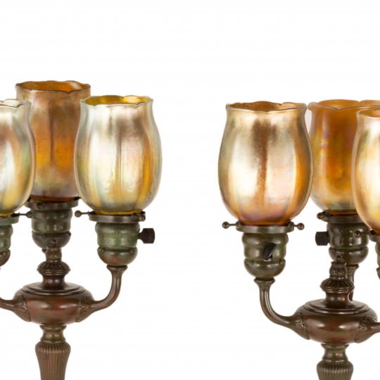 Three Light Table Lamps