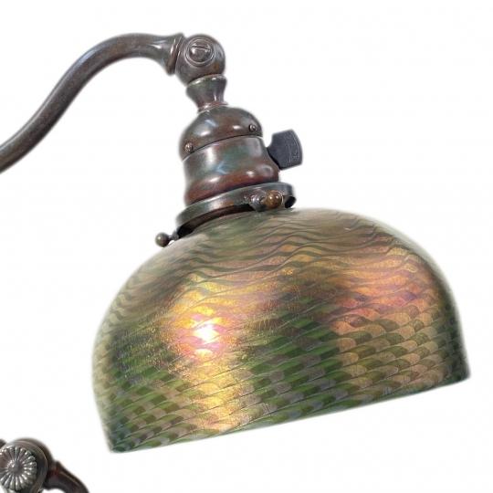 Counter-Balance Damascene Desk Lamp
