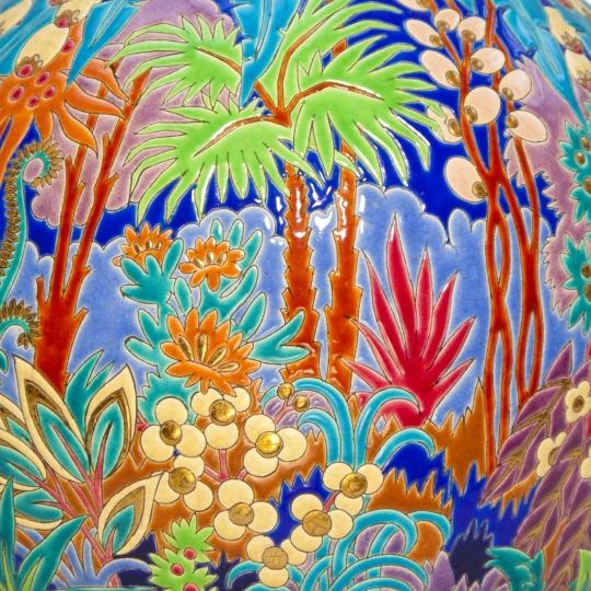 """""""Boule Coloniale"""" (Jungle Vase)"""