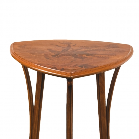 "French Art Nouveau ""Thistle"" Side Table"