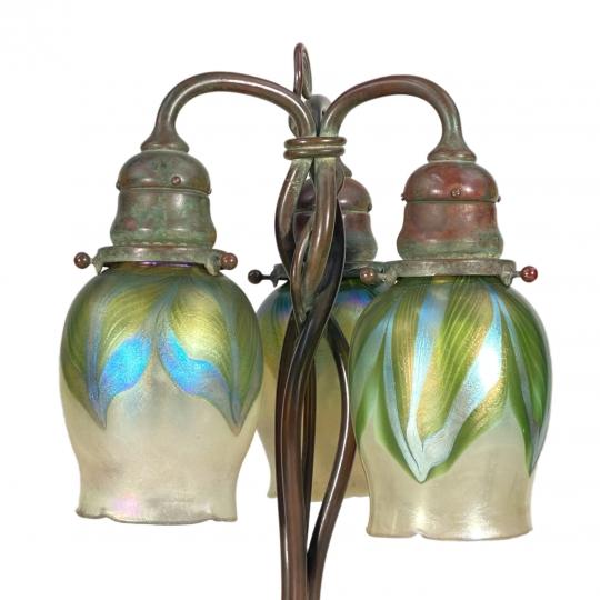 Newel Post Desk Lamp - 2