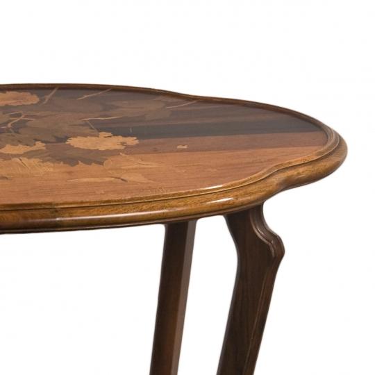 French Art Nouveau Side Table