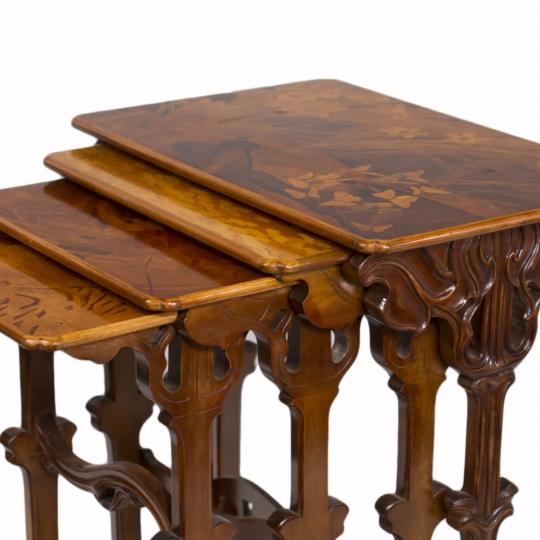 Art Nouveau Nesting Tables
