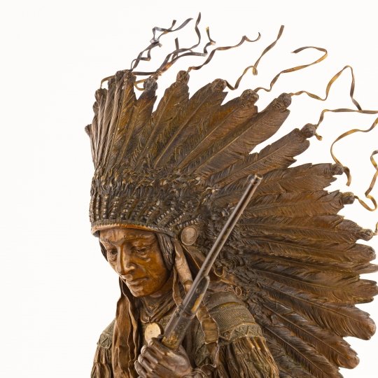 Warrior Chief with Rifle