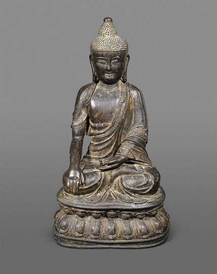 Chinese Bronze Figure of a Buddha