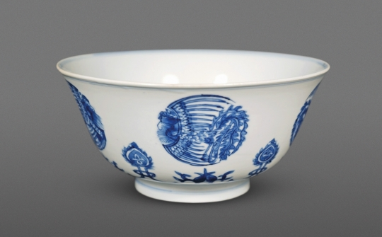 Fine Chinese Blue and White Porcelain Bowl
