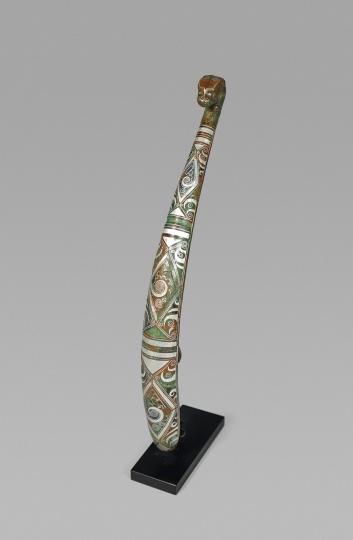 Fine Chinese Inlaid Bronze Buckle