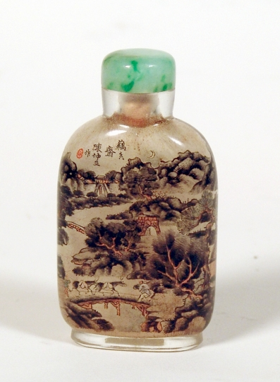 Inside Painted Glass Snuff Bottle