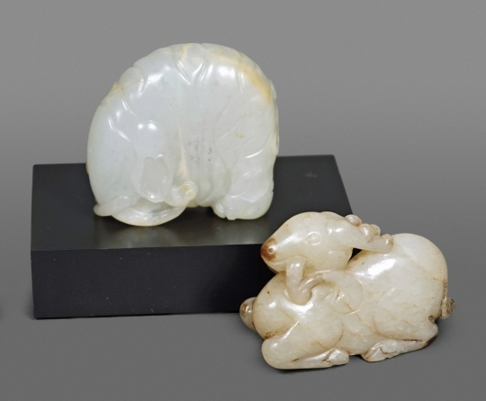 Two Fine Chinese Jade Carvings