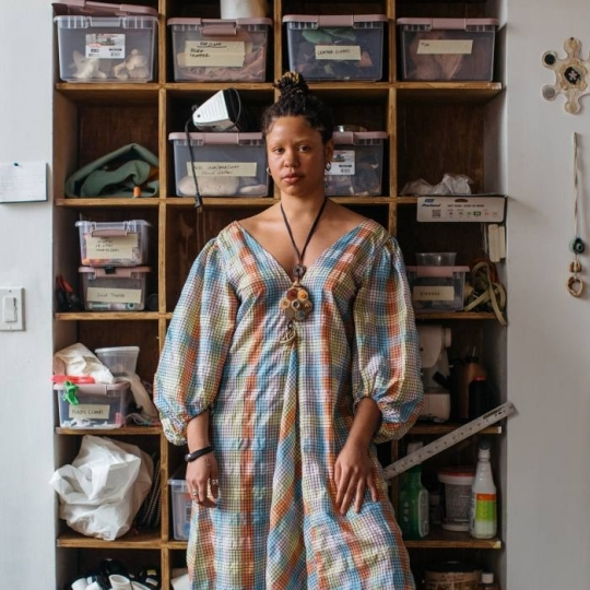 """Financial Times Features Tau Lewis as one of """"Six artists reshaping our way of seeing"""""""