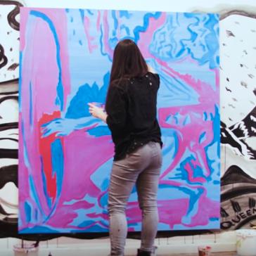 VIDEO: Mira Dancy in the Studio