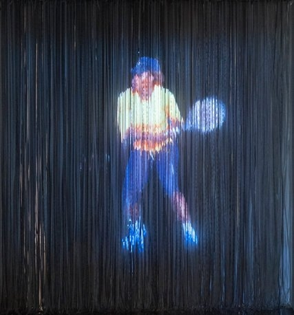 A New Hologram of Serena Williams at Martos Gallery