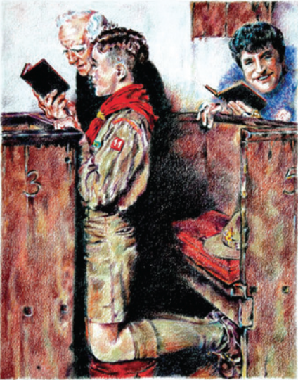 Norman Rockell's Boy Scouts, Updated