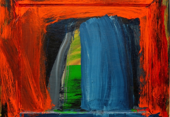Howard Hodgkin and Manuel Neri
