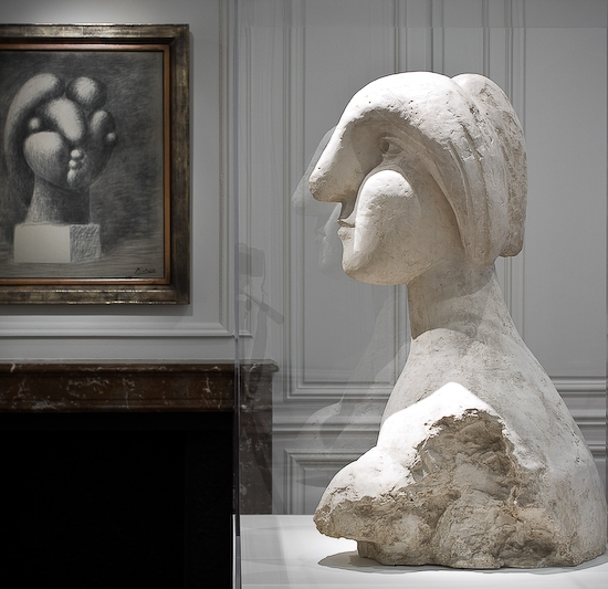 Installation view of Picasso's Marie-Thérèse