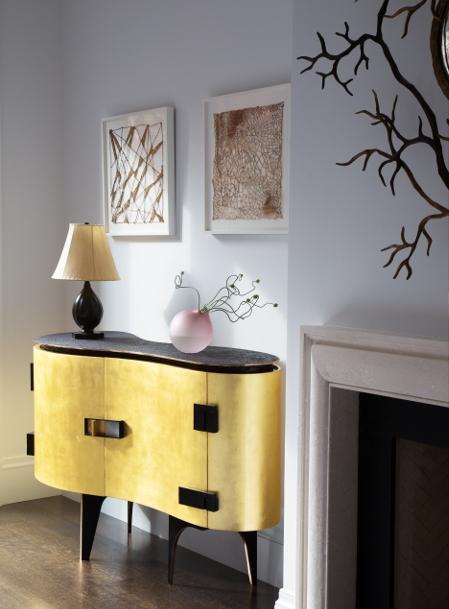 The Silk cabinet by Achille Salvagni