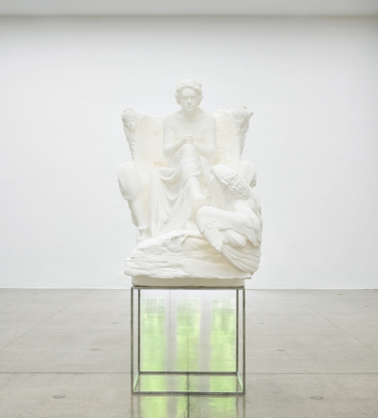 """Installation view of Beethoven, 2016, in """"Photoplastik,"""" at Secession, Vienna."""