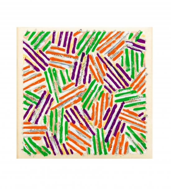 Jasper Johns, Untitled (Catalog Cover)