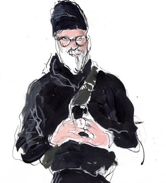 Self Portrait by Richard Haines