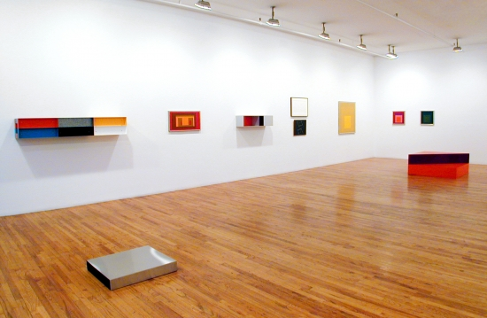 Donald Judd and Josef Albers Exhibition