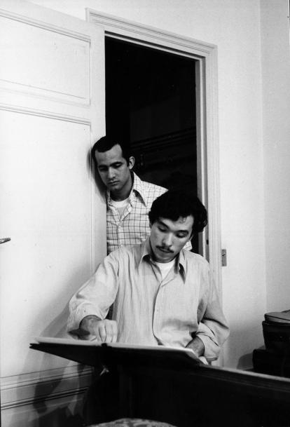 Antonio Lopez and Juan Ramos by Harold Chapman