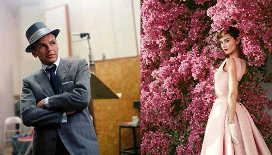 Frank Sinatra and Audrey Hepburn