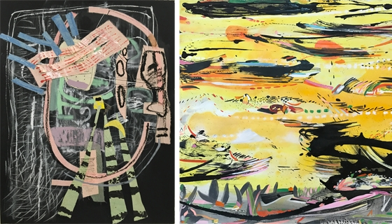 At the Threshold: Works on Paper by Regina Scully and Iva Gueorguieva