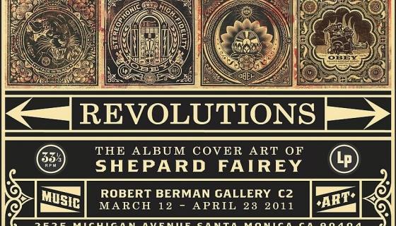 Revolutions: The Album Cover Art of Shepard Fairey