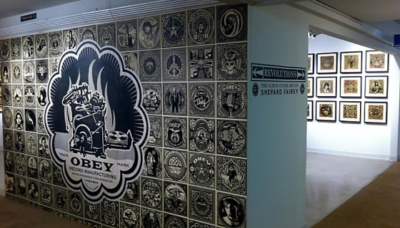 Revolutions: the Album Art of Shepard Fairey