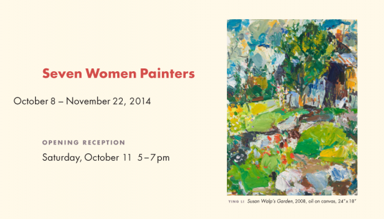 Director's Choice: SEVEN WOMEN PAINTERS