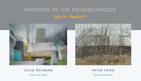 Painting in the Neighborhood - Celia Reisman & Peter Fried