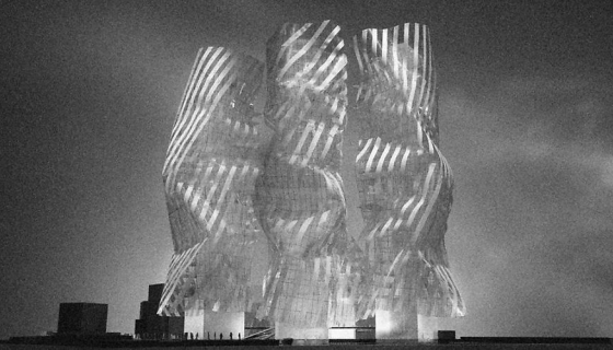 Frank Gehry At Work