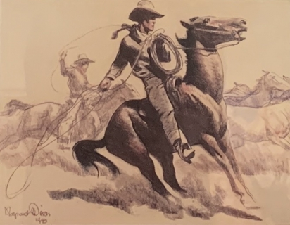 Western American Prints and Works on Paper