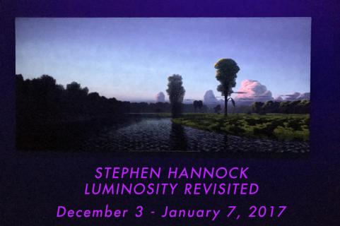 Stephen Hannock LUMINOSITY REVISITED
