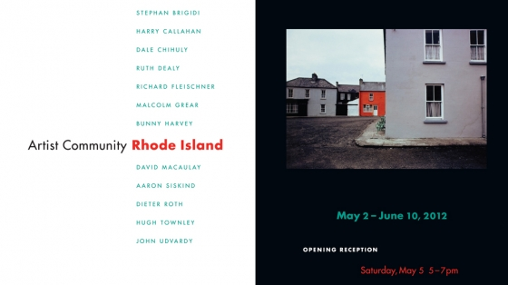 ARTIST COMMUNITY: Rhode Island