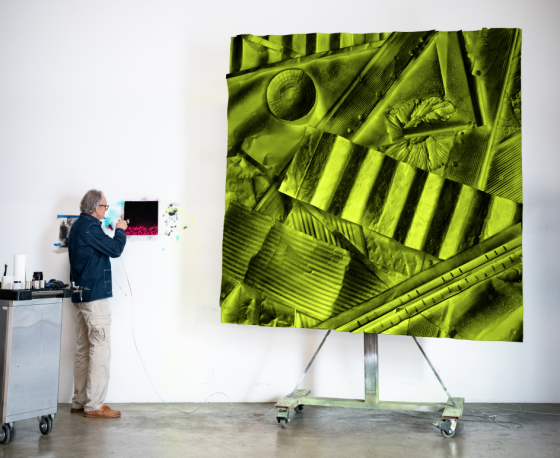 William Monaghan's Industrial Canvases Speak of a Lost America