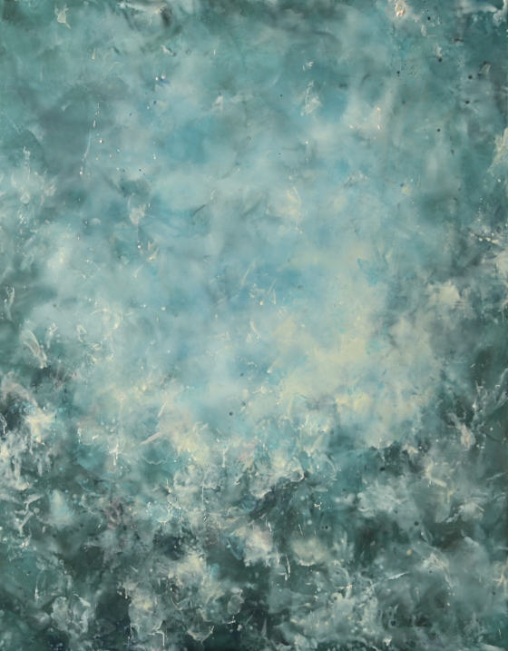 Exhibition of New Abstract Encaustic Paintings by Betsy Eby
