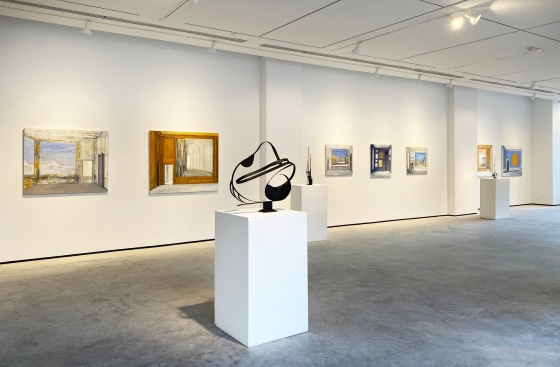 Octavia Art Gallery opens an exhibition of paintings by Pierre Bergian and sculptures by Christian Hootsell