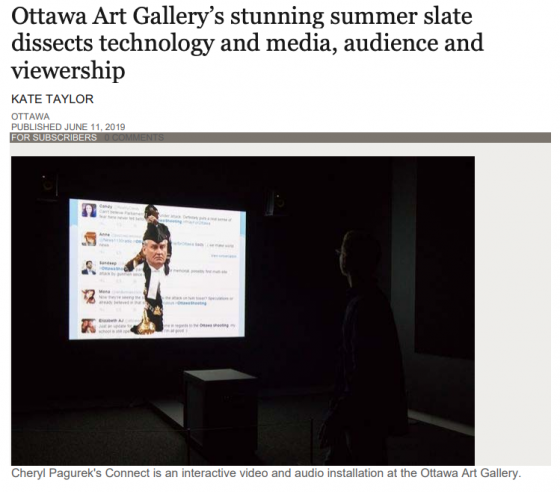 CHERYL PAGUREK IN GLOBE AND MAIL BY KATE TAYLOR