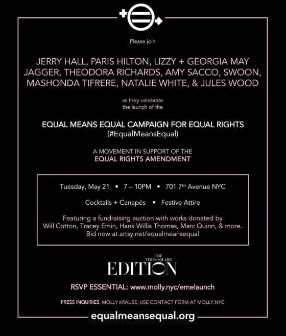 Natalie White at Equal Means Equal Benefit