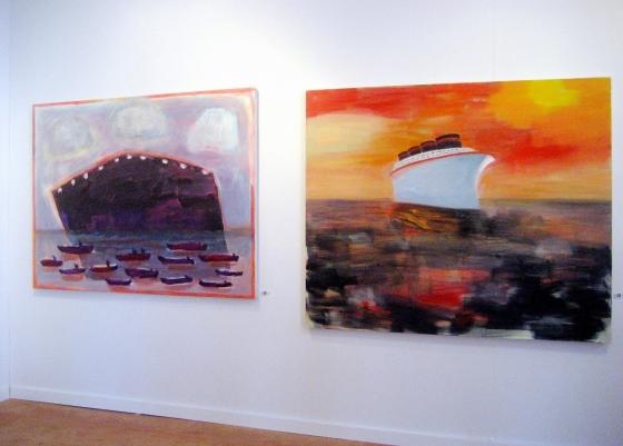 "Katherine Bradford featured in ""Color Talks"" Joanne Mattera Art Blog"